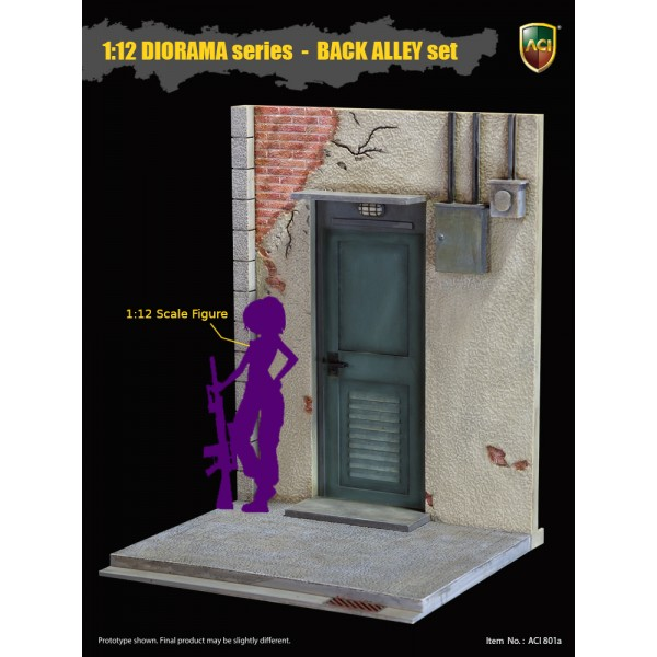 ACI801A ACI Toys 1/12 DIORAMA Series Back Alley Set: Engine Room