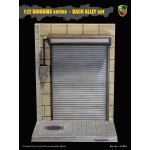 ACI801C ACI Toys 1/12 DIORAMA Series Back Alley Set: Roller Shutter Door