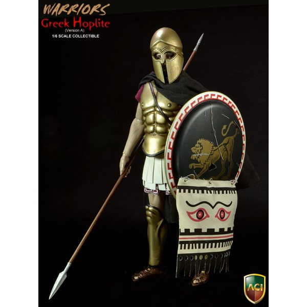 ACI17A Warriors Greek Hoplite - Bronze Helmet Ver.(1:6)