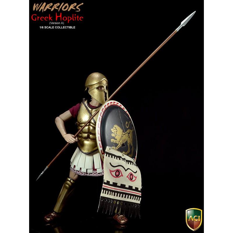 Warriors Into The Wild Christian Review: ACI17A Warriors Greek Hoplite