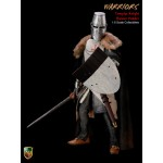 ACI24C Crusader Templar Knight Banner Holder (1:6)