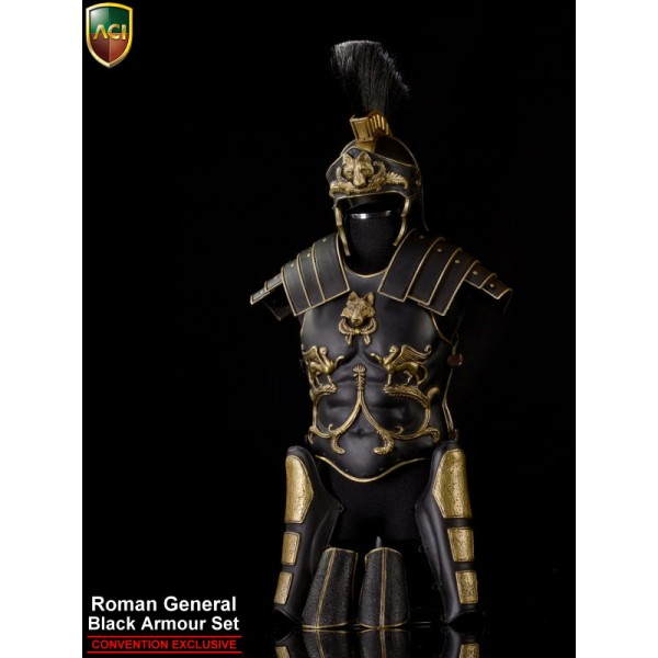 ACI754C Roman General Black Armor Set-Convention (1:6)