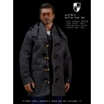 ACI770-3  Duffle Coat Set 3 - Grey Medium Coat Set (1:6)