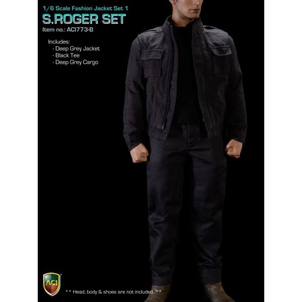 ACI773-B S.Roger Set - Grey Set  (1:6)