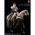 H02 War Horse - Brown for Templar Knight (1:6)