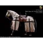 H03A War Horse for Teutonic Knights - Black (1:6)
