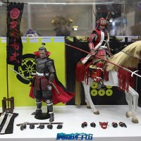 ACI Toys x Suwahara Daimyo Series @ Toysoull 2016 (photo by  Guangyu Shi)