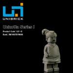 Unibrick U7D Unicotta Series 1 Type D Infantryman
