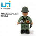 Unibrick U1B WWII German Soldier Type B