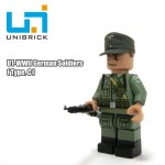 Unibrick U1C WWII German Soldier Type C