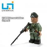Unibrick U1D WWII German Soldier Type D