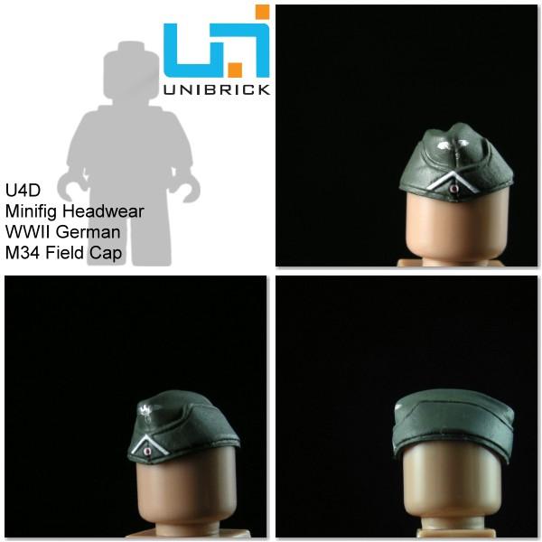 Unibrick U4D WWII German Headwear Type D