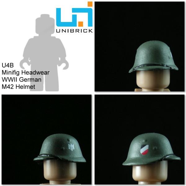 Unibrick U4A WWII German Headwear Type A