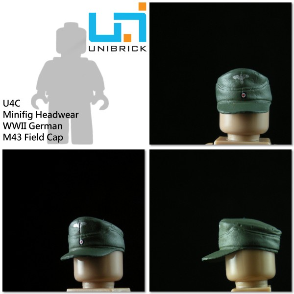 Unibrick U4C WWII German Headwear Type C