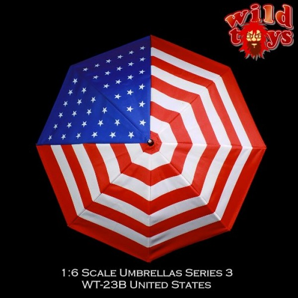 Wild Toys WT23B Umbrella - USA (1:6)