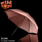 Wild Toys WT23M Umbrella - Pink with finger grip handle (1:6)