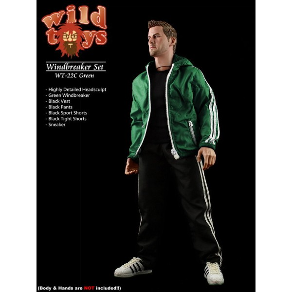 Wild Toys WT22C Windbreaker - Green Set (1:6)