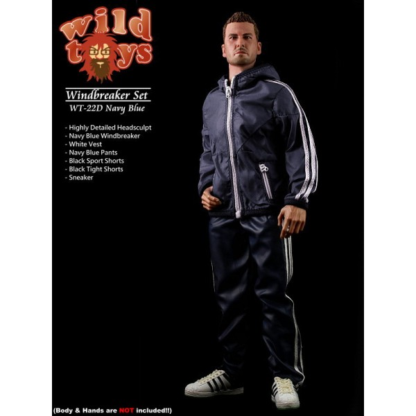 Wild Toys WT22D Windbreaker - Navy Blue Set (1:6)