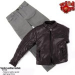 Wild Toys WT18B Sands Jacket Set : Tabacco+ Light Gray Pants (1:6)
