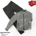 Wild Toys WT18C Sands Jacket Set: Gray +Black Chino Pants (1:6)