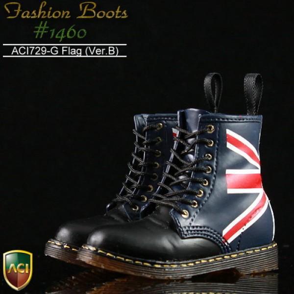 ACI729G FASHION BOOTS 1460 British Ver.B Heel collar (1:6)