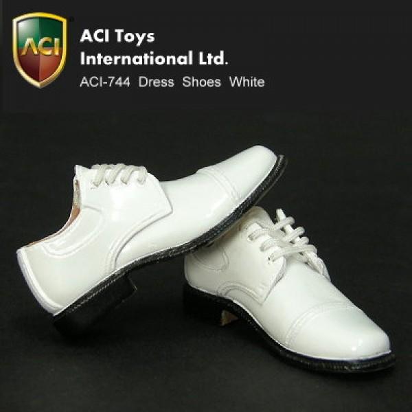 ACI744 PVC Dress Shoes - White (1:6)